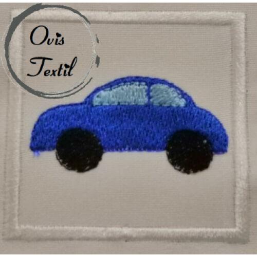 Autó kék ovis jel