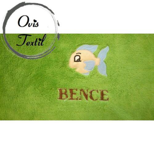 Ovis jellel, névvel hímzett Cosy takaró