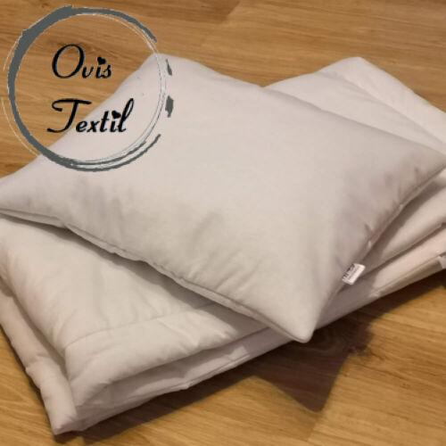 Óvodai bélelt ágynemű- Fehér